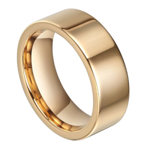 Gold Ring for Men - Tungsten Carbide