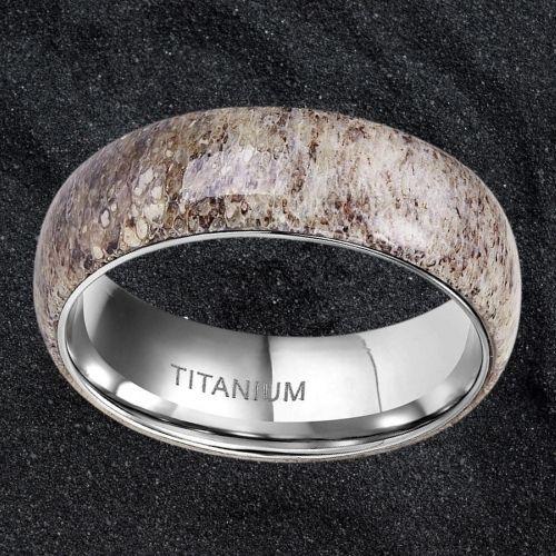 Brown men's ring