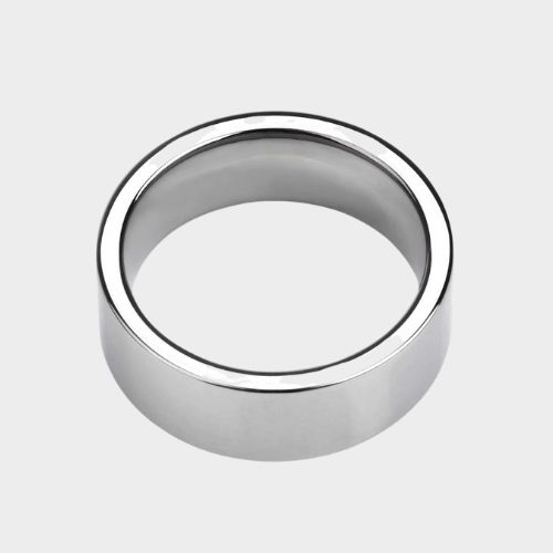 Polished Silver Ring for Men