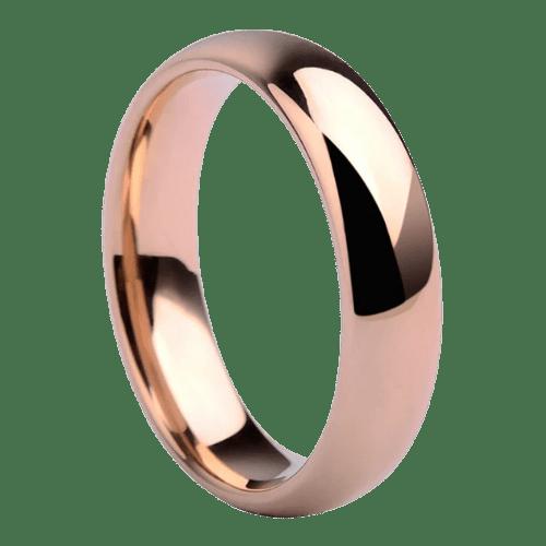 Rose Gold Ring for Men