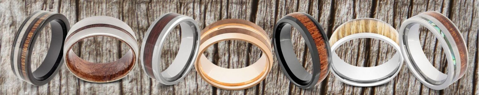 Collection of Brown Rings for Men