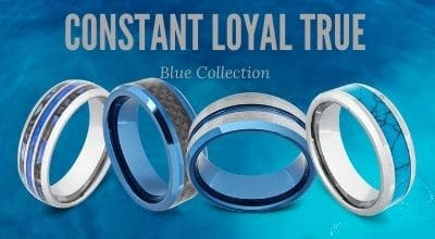 Collection of Blue Rings for Men