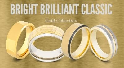 Collection of gold men's rings