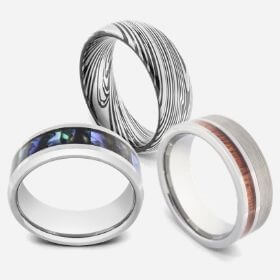 Three Mens Rings