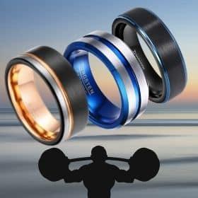 Men's Tungsten Rings