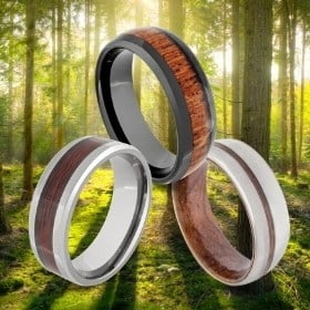 Brown / Wood Rings for Men