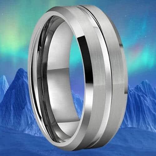 Men's Tungsten Carbide Ring