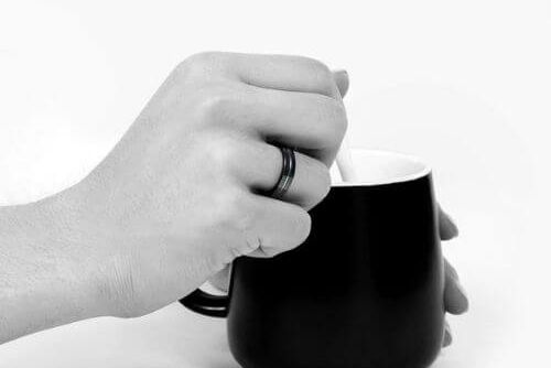 Titanium Ring in Black for Men