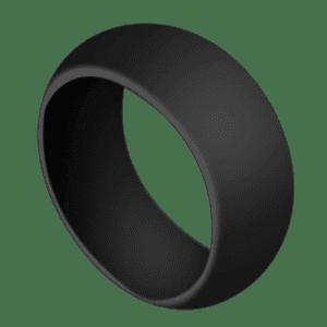 Black Silicone Ring