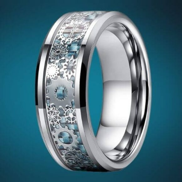 Intricate ring design for men